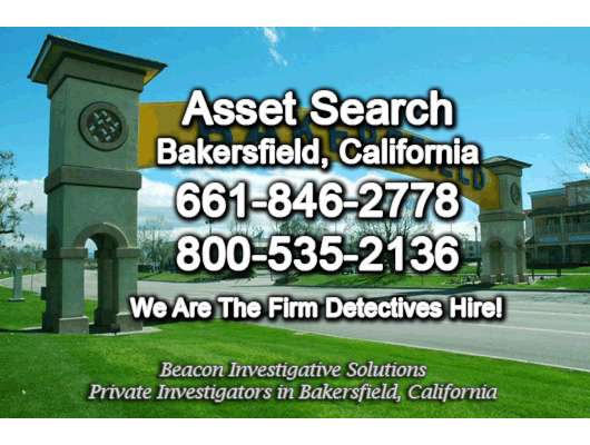 Bakersfield California Asset Search