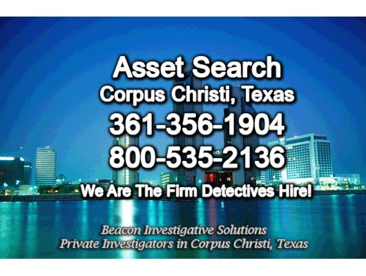Corpus Christi Texas Asset Search