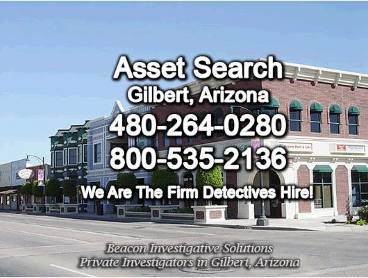 Gilbert Arizona Asset Search