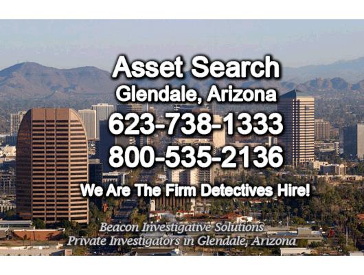Glendale Arizona Asset Search