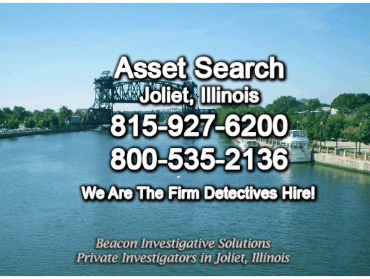 Joliet Illinois Asset Search