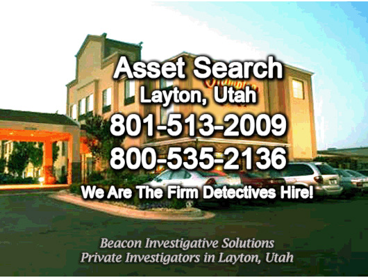 Layton Utah Asset Search