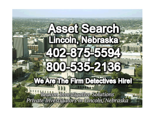 Lincoln Nebraska Asset Search