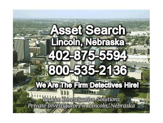Lincoln Nebraska Asset Search