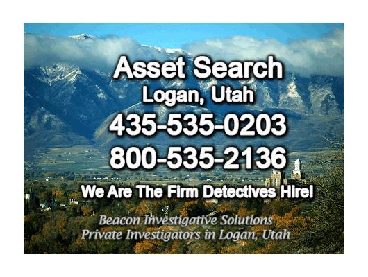Logan Utah Asset Search