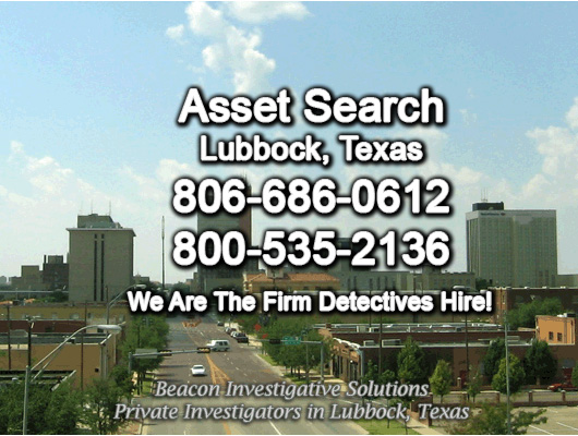 Lubbock Texas Asset Search