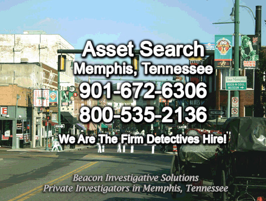 Memphis Tennessee Asset Search