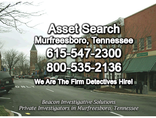 Murfreesboro Tennessee Asset Search