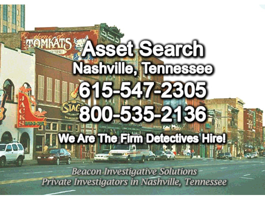 Nashville Tennessee Asset Search