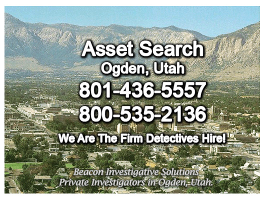 Ogden Utah Asset Search