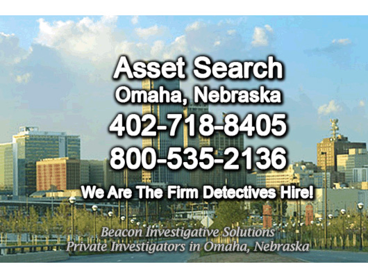 Omaha Nebraska Asset Search