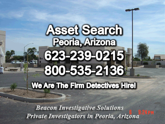 Peoria Arizona Asset Search