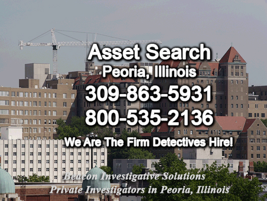 Peoria Illinois Asset Search