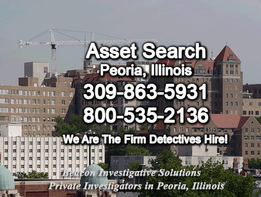 Peoria Illinois Asset Search