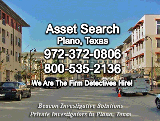 Plano Texas Asset Search