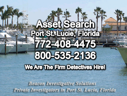 Port St. Lucie Florida Asset Search