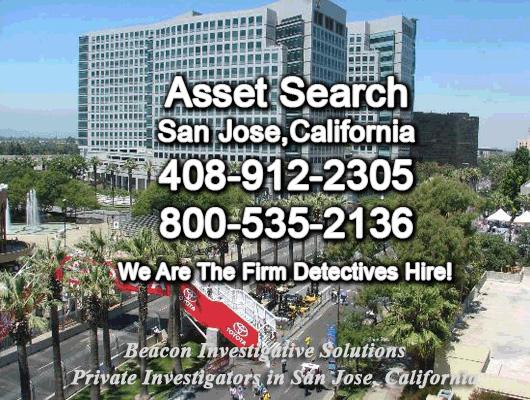 San Jose California Asset Search