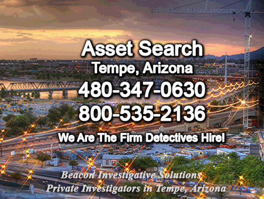 Tempe Arizona Asset Search