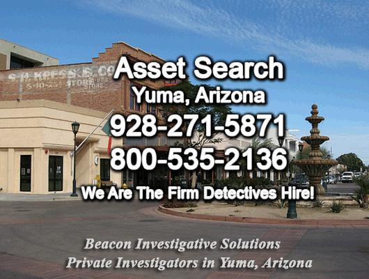 Yuma Arizona Asset Search